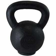 BodyRip 20KG CAST IRON KETTLEBELL EXERCISE FITNESS GYM STRENGTH TONE MUSCLE