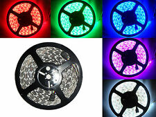 5 Meter 24V RGB LED Strip Streifen SMD 5050  Wasserdicht IP65 300 LEDs 5M