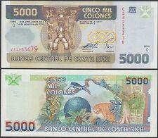 Costa Rica 5,000 (5000) Colones, 2005, P-268Ab, UNC