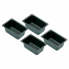 Kitchen Craft Set Of Four Non-Stick Mini Loaf Tins