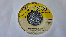 Al Hudson & The Soul Partners 45 Alone She's Gone/My Number One Rare 70s Soul