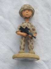 SQODDITIES Figur  ,Gulf War, Baghdad Bill, englischer Soldat in Desert Uniform