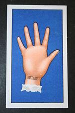 Palmistry  Bracelet Lines  Fortune Telling  1930's Vintage Card VGC