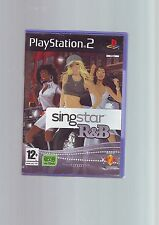 SINGSTAR R&B - 30 TRACKS- PS2 GAME - FAST POST - ORIGINAL & COMPLETE WITH MANUAL