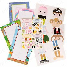 CREATE YOUR OWN POSTER Monster/Princess Sticker Activity Sheets Mix & Match Card