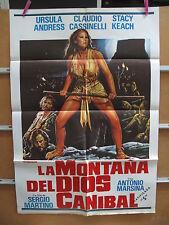 A3313 La montaña del dios caníbal Stacy Keach, Ursula Andress, Antonio Marsina,