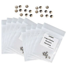 hot ! 10 Packs Orthodontic Dental Lingual Buttons for Bondable Round Base