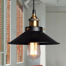 Vintage Industrial Style Retro Metal Pendant Light Ceiling Lamp Edison Bulb E27