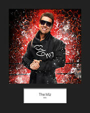 THE MIZ #1 (WWE) Signed (Reprint) 10x8 Mounted Photo Print - FREE DEL