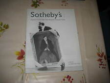 SOTHEBY'S CATALOGUE DAVID SYLVESTER PRIVATE COLLECTION ANTIQUITIES TRIBAL ART +