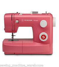 Singer Simple 3223R Pink Sewing Machine 23 Stitches Easy to use - New in Box!