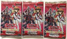 3-Pack Lot YuGiOh Duelist Pack Jaden Yuki 3 6-card Booster 1st Edition English