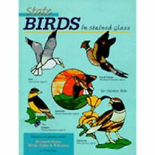 State Birds In Stained Glass -  Stained Glass Pattern Book
