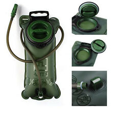 2L Water Bladder Bag Pack Hydration System Hiking Camping Cycling Survival