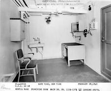 Old Photo. Hospital Ship USS Rescue - Psych Ward Examining Area