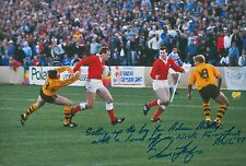 Paul Thorburn Hand Signed Wales Rugby 12x8 Photo 11.