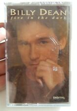 BILLY DEAN FIRE IN THE DARK CASSETTE TAPE, 1993 LIBERTY RECORDS, NEW SEALED!!!