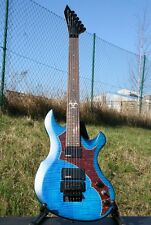 ACEPRO SME-41 ROCK E-GITARRE, MASSIV MAHAGONI BODY, FLAME MAPLE TOP, FLOYD ROSE