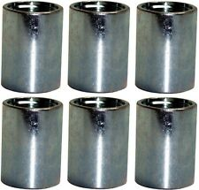 "6 Pack Water Source C125 Well Point Galvanized Steel Drive Coupling 1-1/4"" Inch"