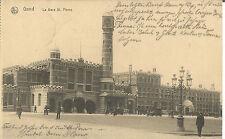 Gent, Gare St. Pierre, Bahnhof,1. Weltkrieg, Feldpost, Stempel Landsturm Zwickau
