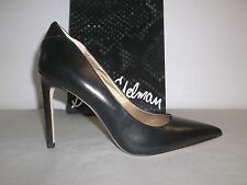 Sam Edelman Size 9.5 M Dea Black Leather Pumps High Heels New Womens Shoes