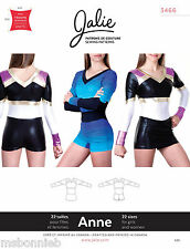 Jalie One-Piece Bodysuit Cheerleading Uniform Miss/Girl Sewing Pattern 3466 Anne