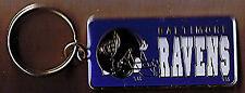 NFL Football Team logo key rings The Baltimore Ravens