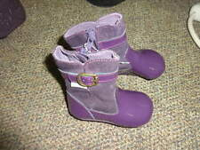 NEW ROBEEZ GIRLS 3 PURPLE BOOTS SHOES TWINS