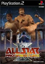 Used PS2 All Star Pro-Wrestling III Japan Import