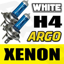 2x H4 [472/P43T] 60/55w Super White Xenon Headlight Bulbs 12v