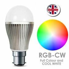 2 X Control Remoto Wifi MiLight color RGBW LED Bombilla - 9W-B22 2.4GHz