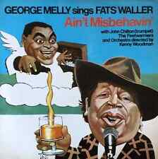 GEORGE MELLY - George Melly Sings Fats Waller: Ain't Misbehavin' (LP) (EX+/VG-E