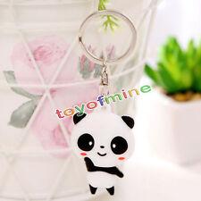 1pcs belle mode mignon panda - sac pendentif cartoon clé des bijoux