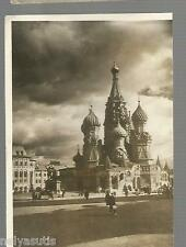 Old Postcard Moscow -   St. Basil's Cathedral