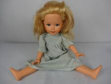"Vintage 1980s Tomy Blonde Hair Character Girl Doll 16"" Tall Kimberly VTG"