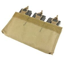 Condor VA6 TAN M4/M16 Triple Mag Pouch Insert w/Hook Backing for MOPC
