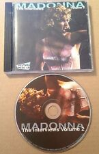 Madonna - The Interviews Volume 2 Picture Disc Cd Ultra Rare 1995