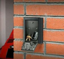SECURITY OUTDOOR KEY SAFE BOX Combination Keys Lock Wall Mounted Holder Car Home
