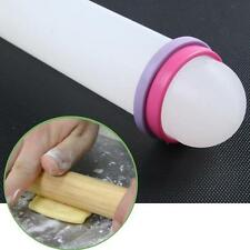 Cake Rolling Pin Nonstick Fondant Dough Paste Ring Roller Pastry Decorating  S