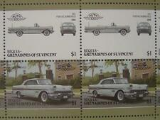 1957 PONTIAC BONNEVILLE (Parisienne) Car 50-Stamp Sheet / Leaders of the World