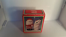 CHRISTMAS SANTA AND PACKAGES GIFTS SALT & PEPPER SHAKERS WITH BOX