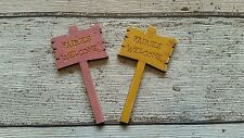 FAIRY DOOR ACCESSORIES SIGN PLEASE ADVISE WHICH COLOUR WHEN ORDERING