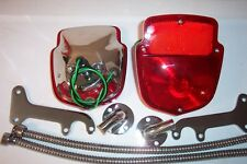 Ford F-100, 1953-60 stepside all stainless tail light kit, new.