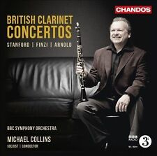 British Clarinet Concertos: Stanford, Finzi, Arnold (CD, Oct-2012, Chandos)