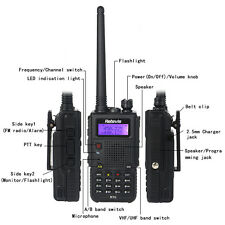 Talkie-Walkie Retevis RT5 Dual Band UHF+VHF 8W 128CH FM bidirectionnelle Radio