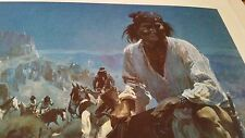 Guy Manning Geronimo Last of the Apache Wars Signed & Numbered Print