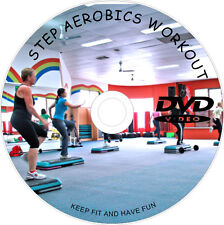 LEARN STEP AEROBICS CARDIO WORKOUT DVD FITNESS WEIGHT LOSS EXERCISE TONE FIT