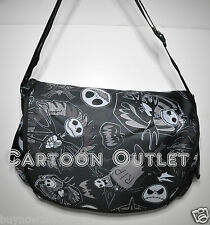 NIGHTMARE BEFORE CHRISTMAS JACK MESSENGER BAG TOTE BACKPACK DISNEY SKELLINGTON