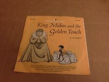 AL PERKINS  KING MIDAS AND THE GOLDEN TOUCH SCHOLASTIC RECORDS VINYL  7''