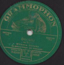 Wilhelm Strienz singt Carl Loewe Balladen 1927 : Die Uhr + Tom der Reimer